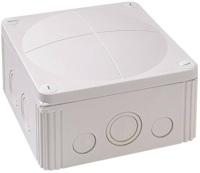 Rozbočovacia krabica Wiska Combi 1010, IP66/IP67, sivá, 10060702