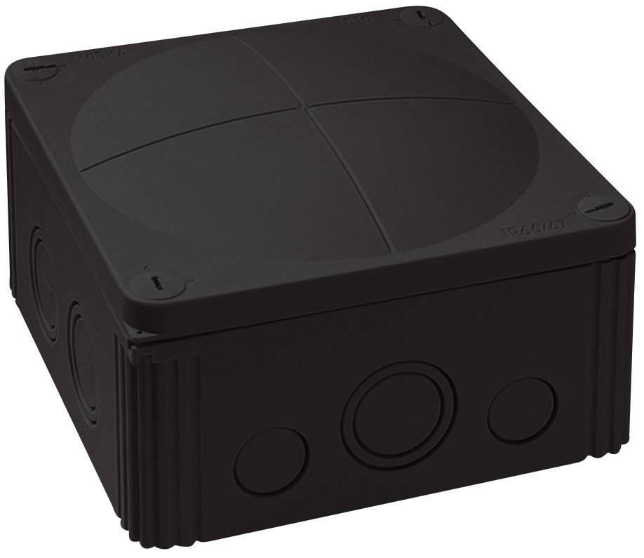 Rozbočovacia krabica Wiska Combi 1010, IP66/IP67, čierna, 10062214