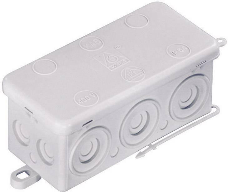 Rozbočovací krabice do vlhkých prostor Wiska KA 6, IP54, šedá, 10060818