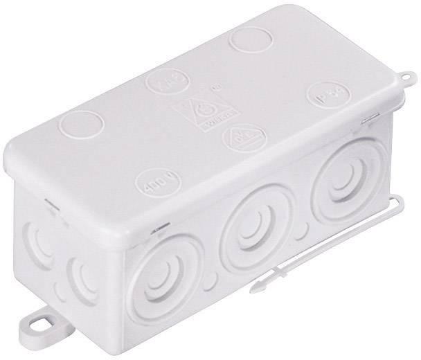 Rozbočovacia krabica do vlhkých priestorov Wiska KA 6, IP54, biela, 10060819