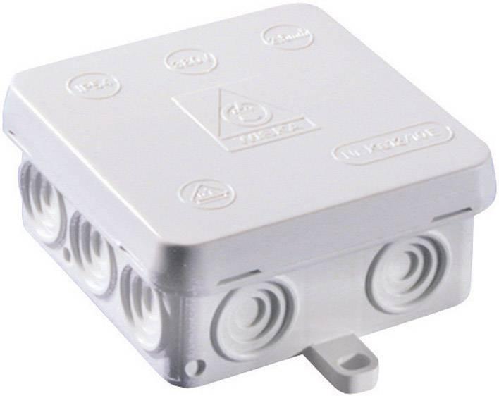 Rozbočovacia krabica do vlhkých priestorov Wiska KA 12, IP54, sivá, 10060822