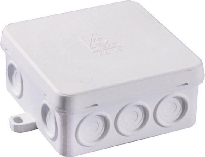 Rozbočovacia krabica do vlhkých priestorov Wiska KA 14, IP54, sivá, 10060550