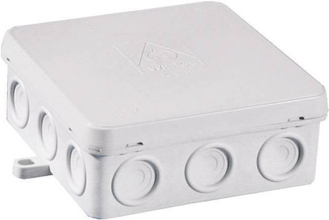Rozbočovacia krabica do vlhkých priestorov Wiska KA 16, IP54, biela, 10060554