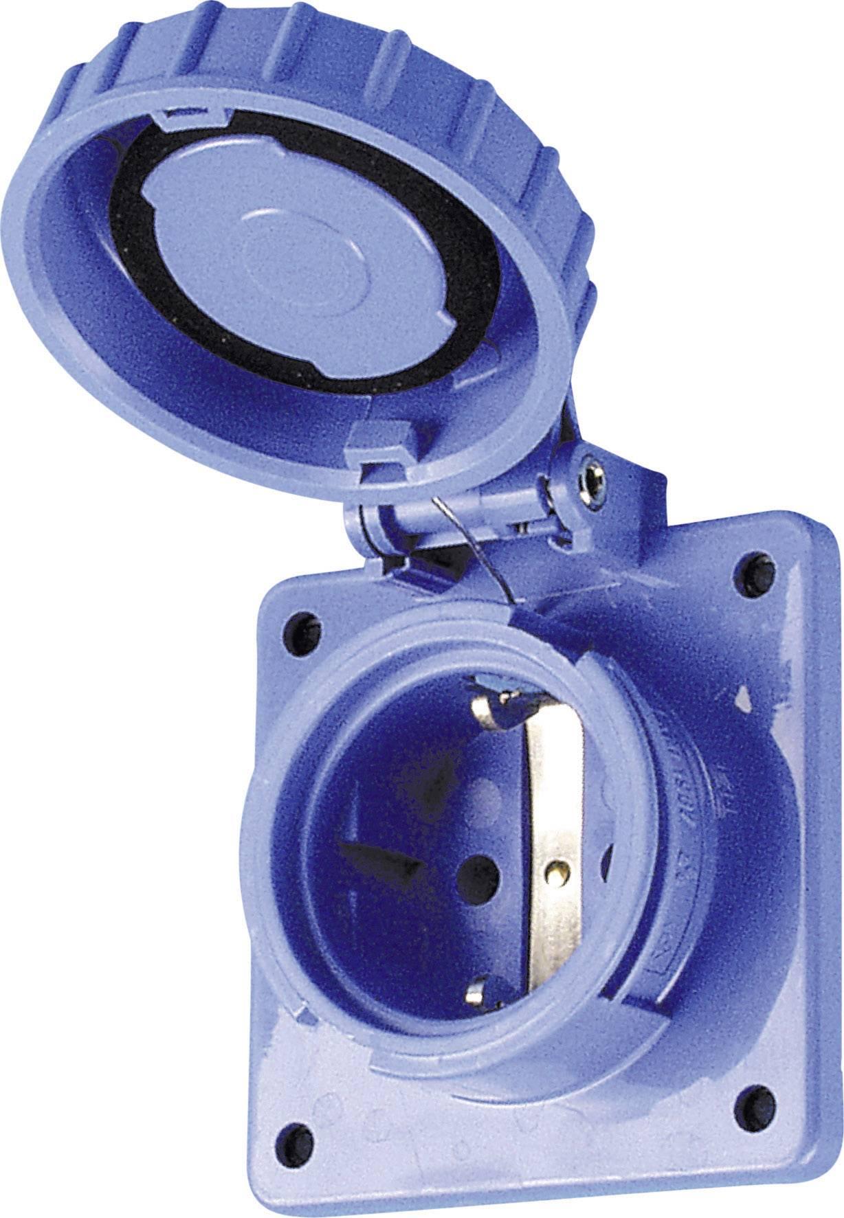 Vestavná zásuvka ABL Sursum 611776 IP68, modrá