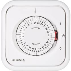 Spínací hodiny pod omítku Suevia, 348.002, 2200 W, IP20, analogové, denní