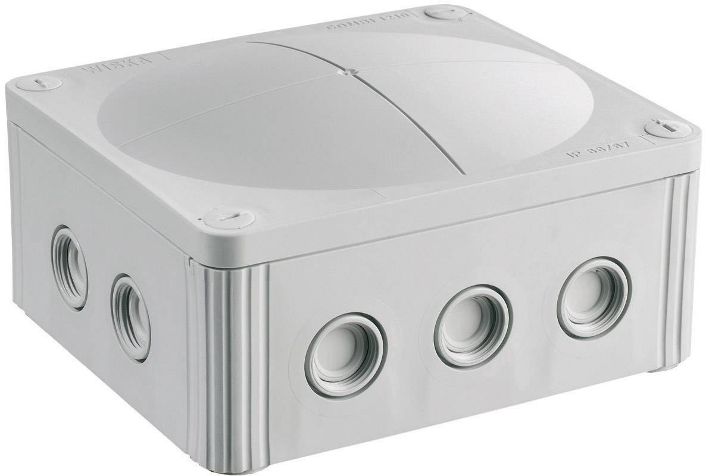 Rozbočovacia krabica Wiska Combi 1210, IP66/IP67, sivá, 10101459