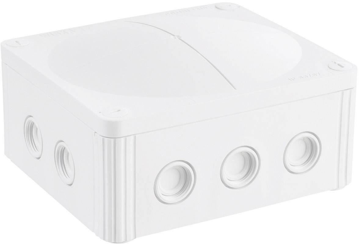 Rozbočovacia krabica do vlhkých priestorov Wiska Combi 1210, IP66/IP67, biela, 10101461
