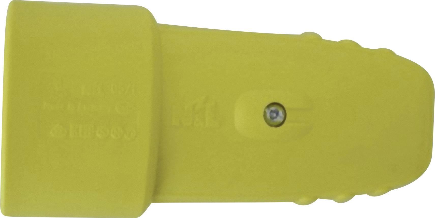 Prepojka SchuKo GAO 612016, guma, IP20, 230 V, žltá
