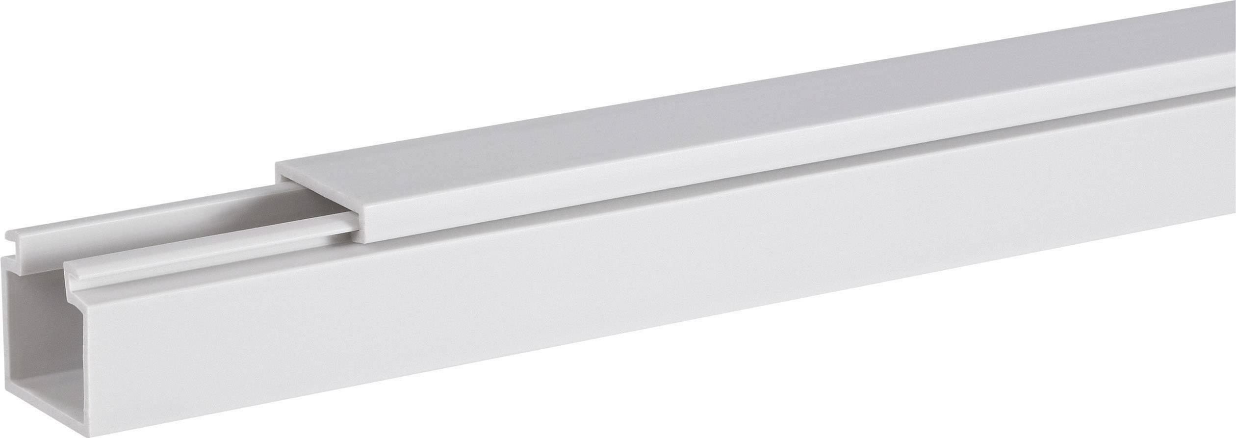 Káblová lišta Hager LF1501507035, 1 ks, svetlo sivá