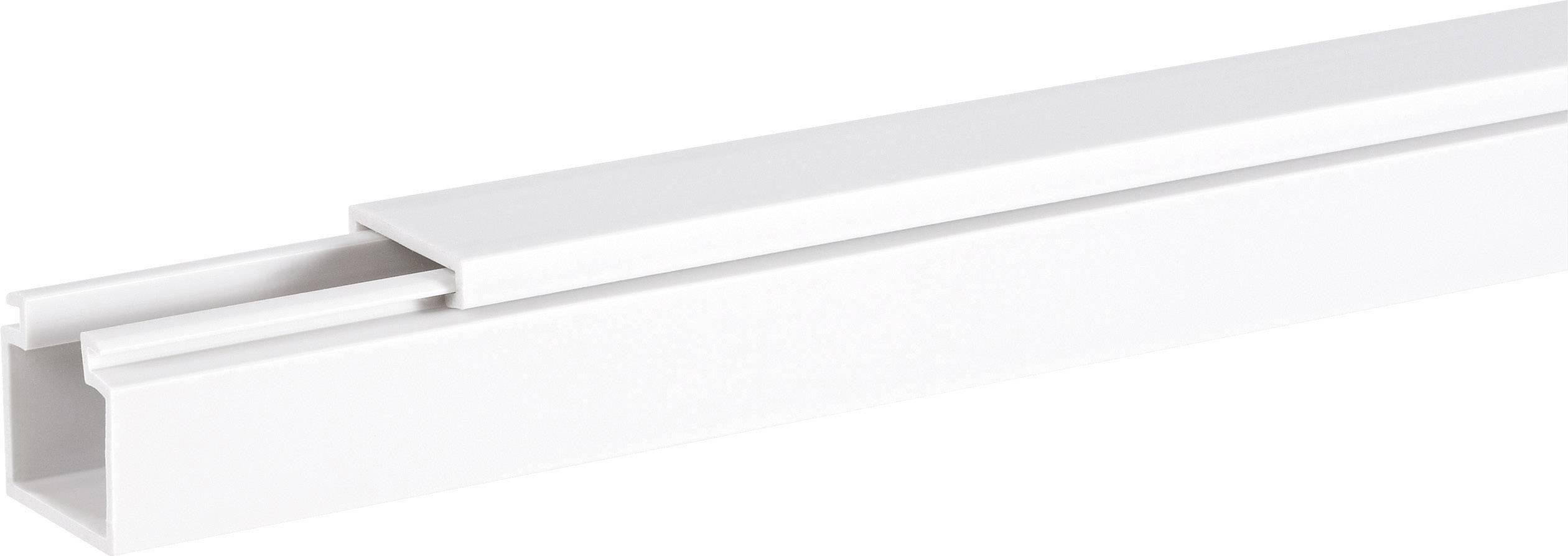 Káblová lišta Hager LF1501509010, 1 ks, čisto biela