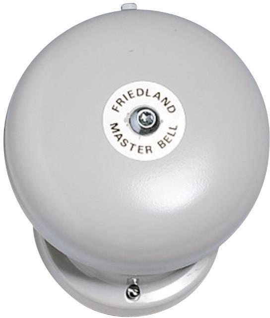 Zvonek Friedland, 581069, 12 V/AC, 100 dBA, šedá