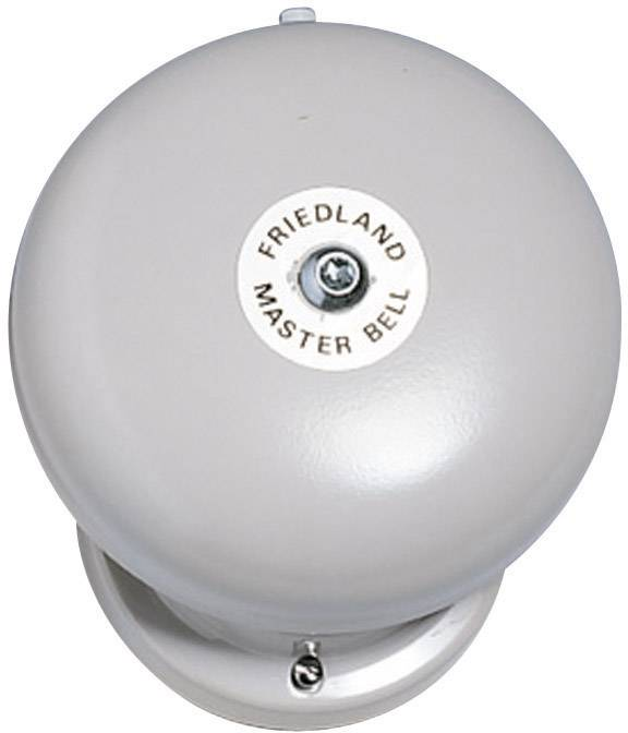 Zvonek Friedland, 581077, 230 V/AC, 100 dBA, červený