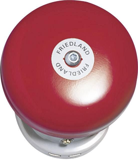 Zvonek Friedland, 581088, 6 V/DC - 12 V/DC,91 dBA, šedá