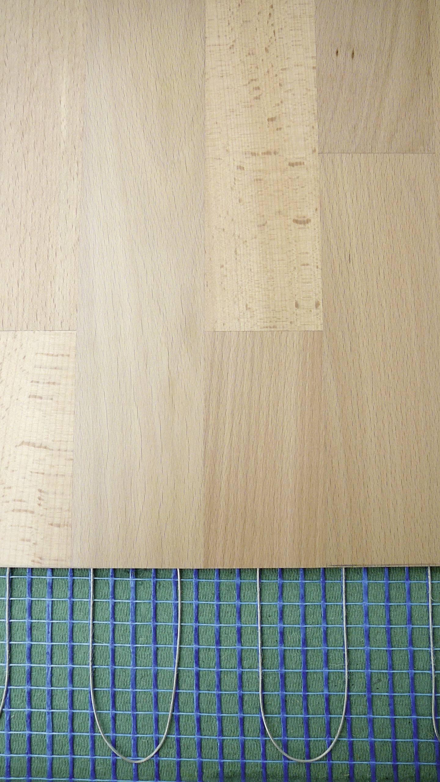 Vykurovanie laminátových podláh, 8 m2, 1280 W