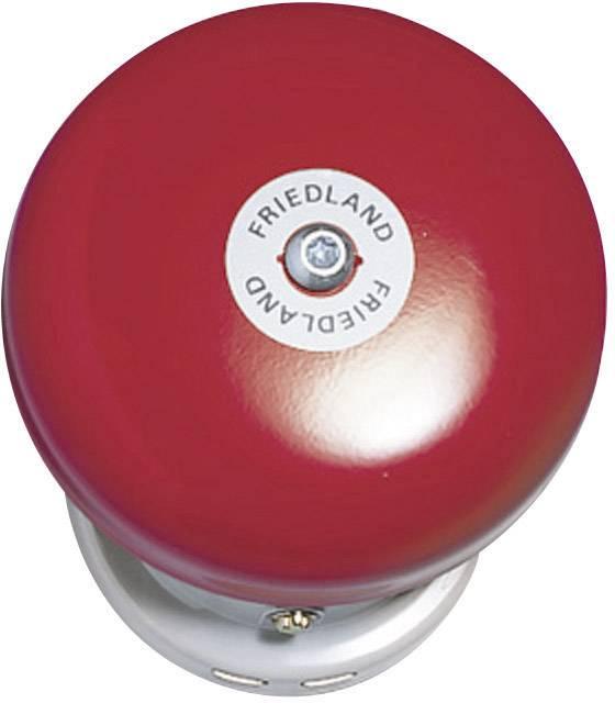 Zvonek Friedland, 581130, 12 V/DC - 24 V/DC, 91 dBA, šedá
