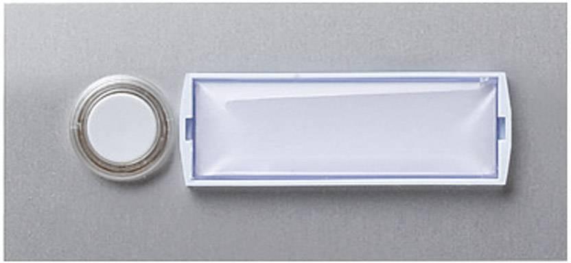 Destička se zvonkovým tlačítkem Friedland, 400110, max. 15 V, stříbrná