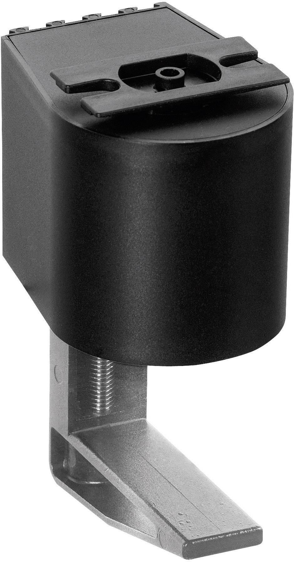 Montážní úchytka Schulte Elektrotechnik, 99090213, 40-75 mm, černá