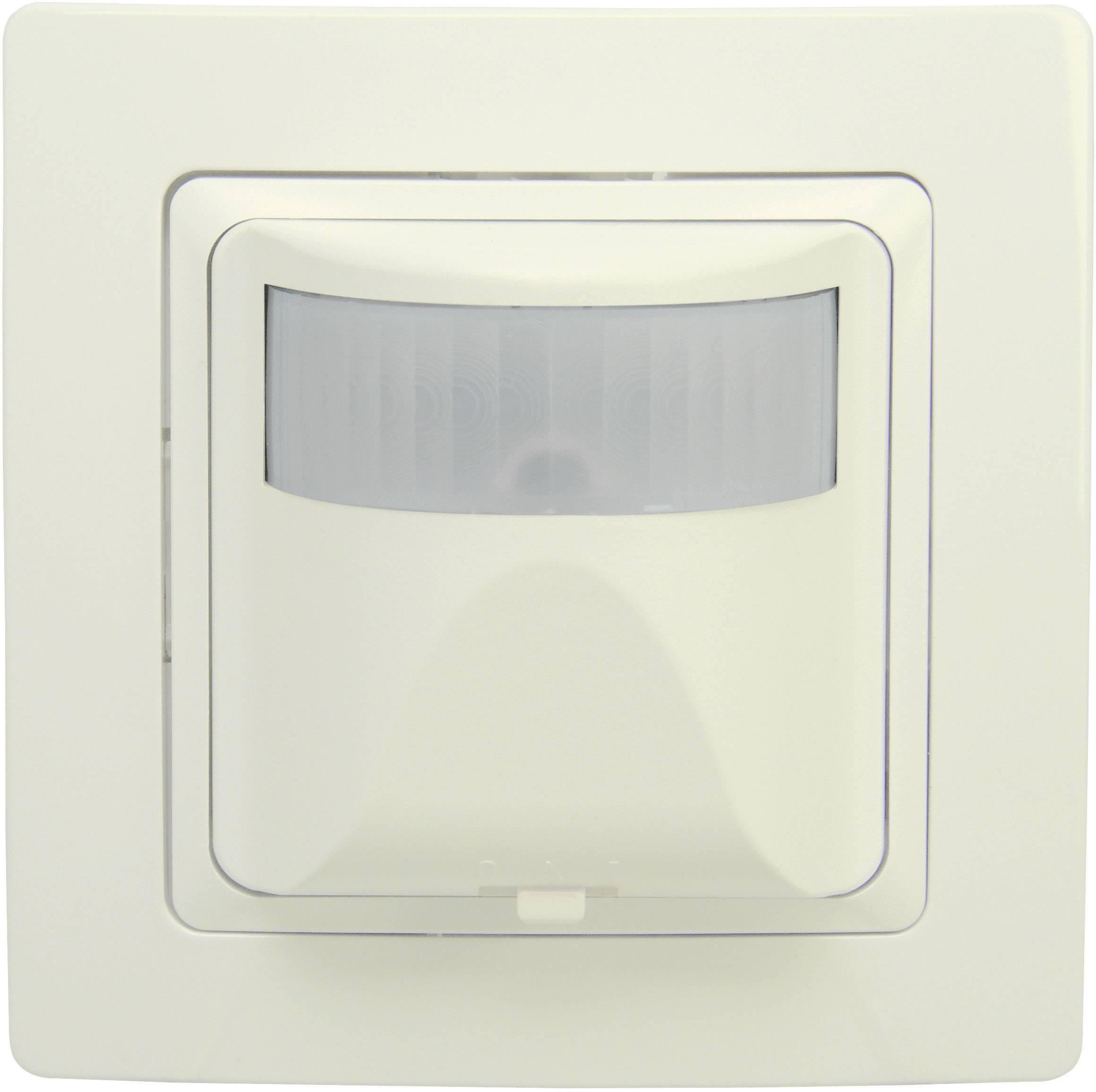 Senzor pohybu PIR Kopp 808401012, 180 °, relé, krémovo biela, IP20