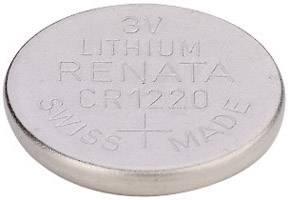 Gombíková batéria CR 1220 lítium Renata, 40 mAh, 3 V