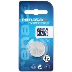 Gombíková batéria CR 2025 lítiová Renata, 165 mAh, 3 V