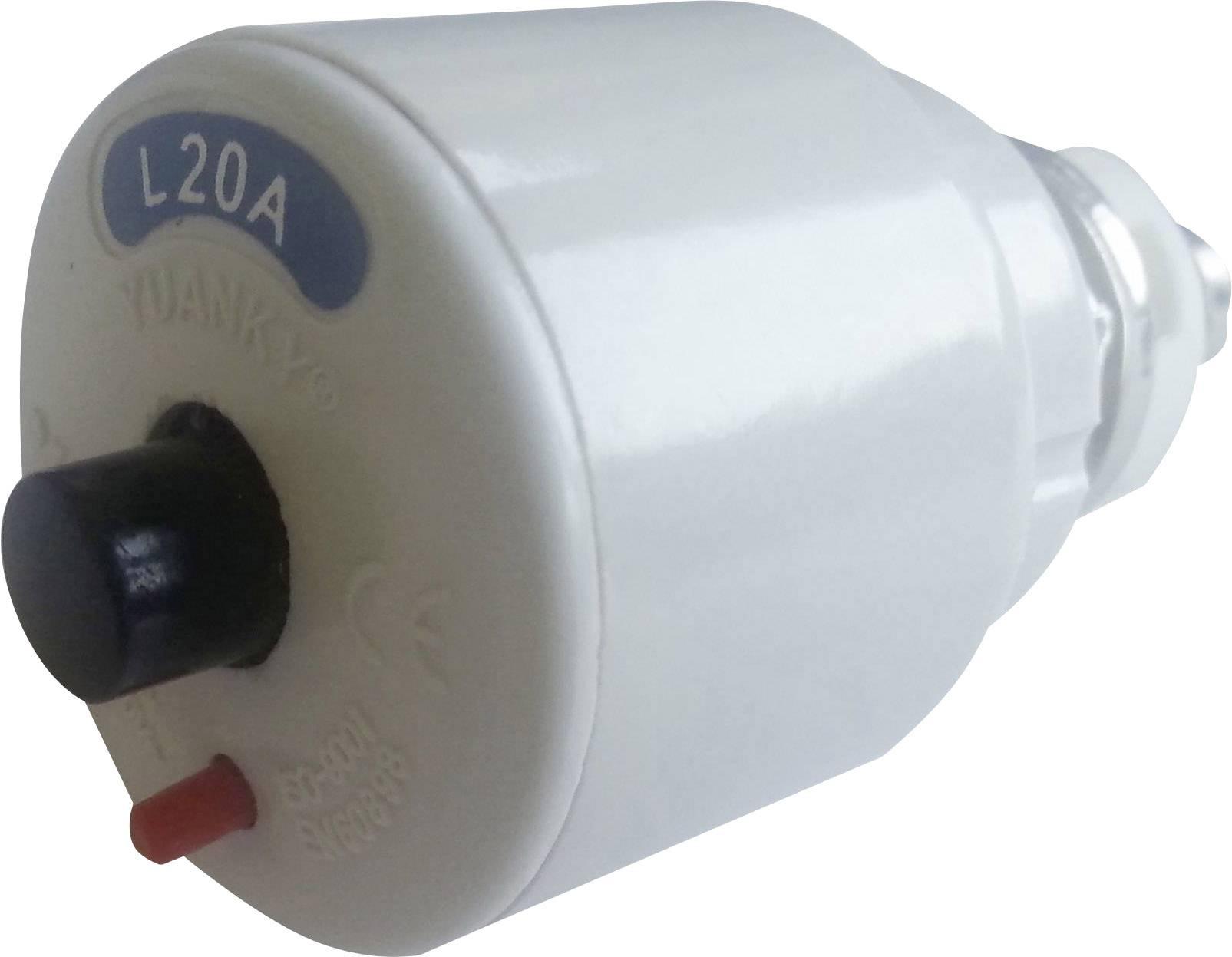 Samočinná šroubová pojistka SPL-20, 20 A, 1pólová