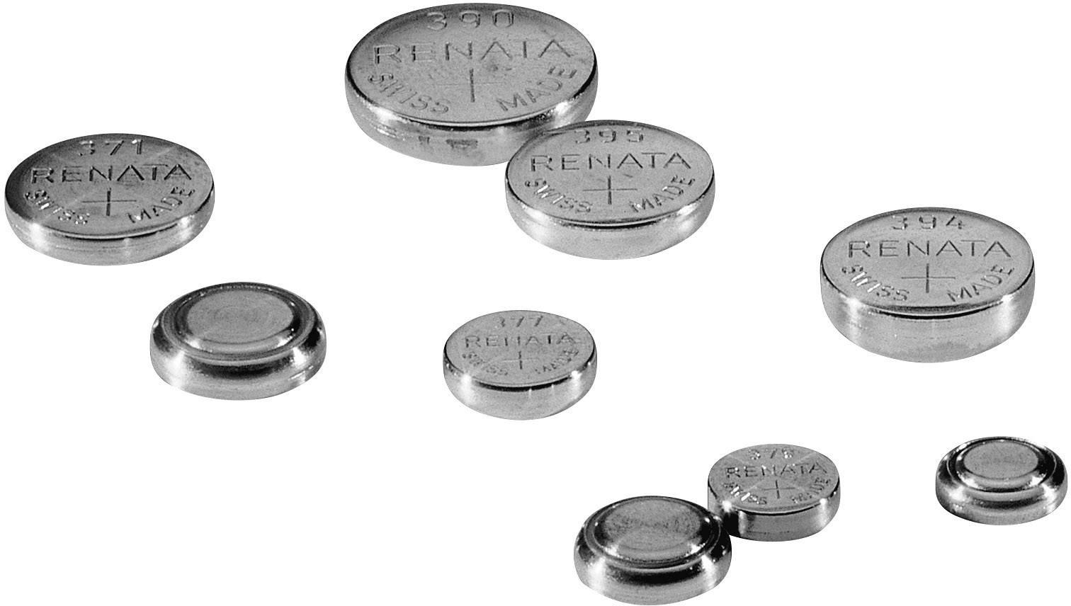 Gombíkové batérie z oxidu strieborného 317