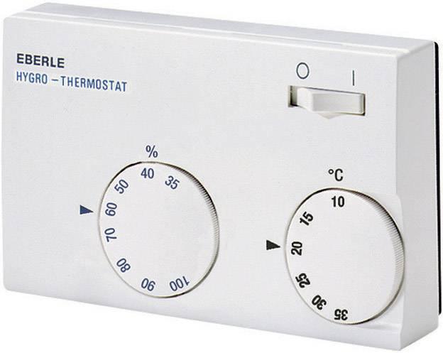 Hygrostat Eberle HYG-E 7001, 10 až 35 °C, biely