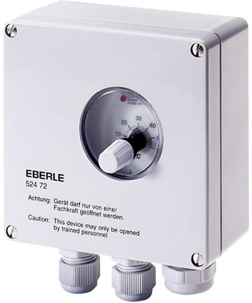 Univerzální termostat Eberle UTR 0524, -40 až +20 °C, bílá