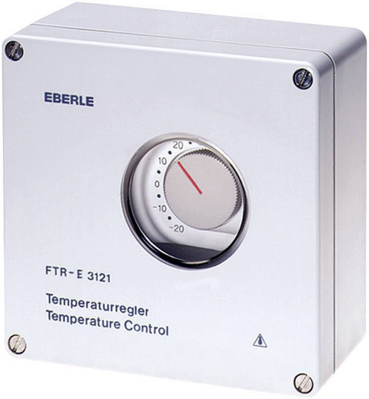 Odolný termostat Eberle FTR-E 3121, -20 až +35 °C