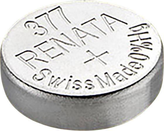 Gombíkové batérie z oxidu strieborného 377