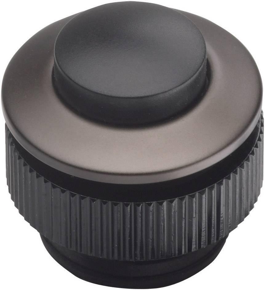 Tlačidlá zvončeka Grothe 62013, antracitová, čierna