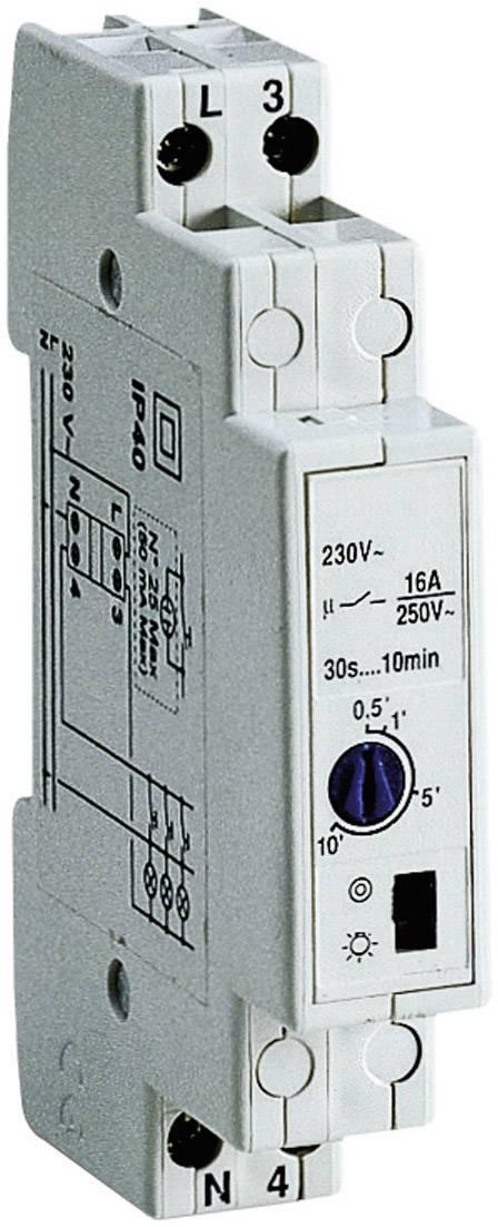 Schodiskový spínač na DIN lištu MM 55B, analógový, 16 A, 230 V, 0.5 - 17 min, 1442
