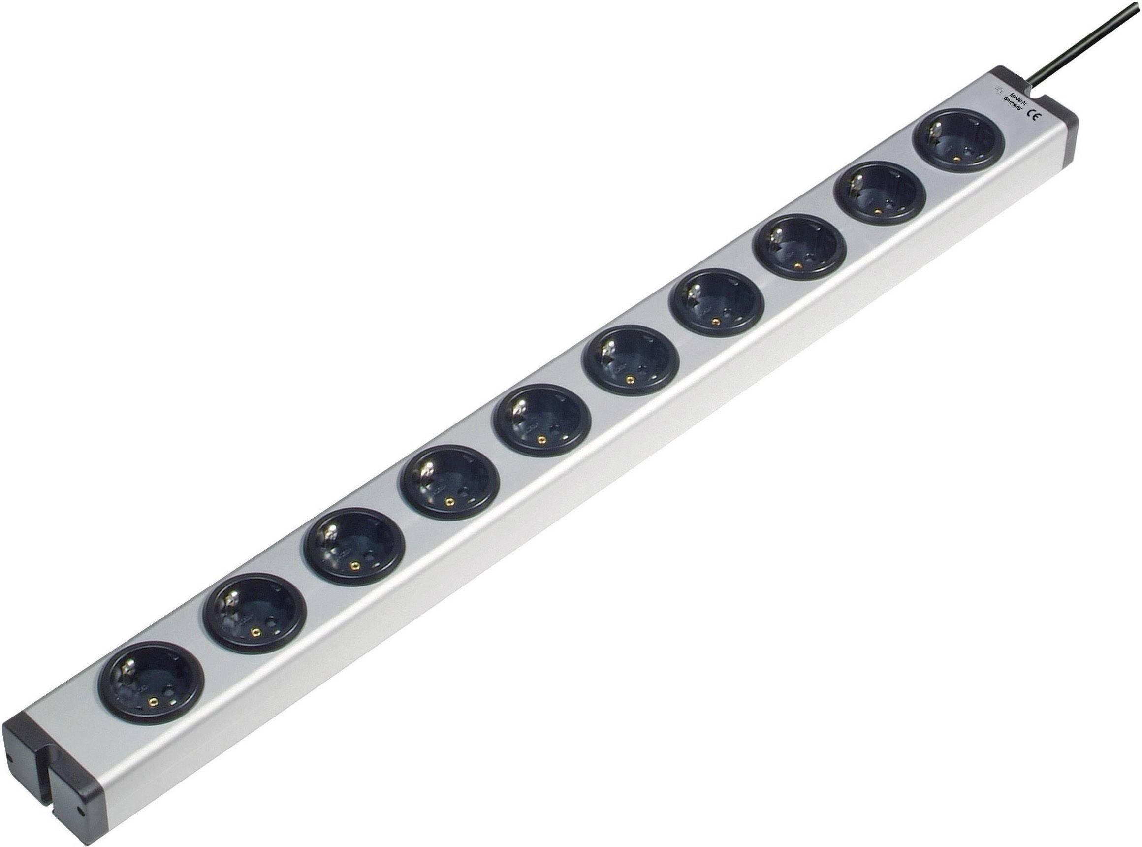 Zásuvková lišta Ehmann, 10 zásuviek, dĺžka káblu 1.5 m