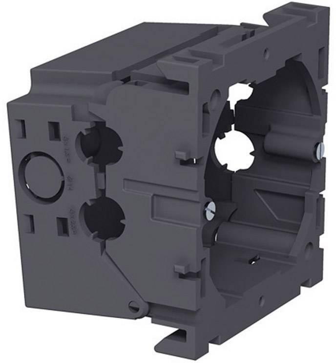 Montážní elektroinstalační krabice OBO Bettermann, 6288610, jednoduchá, šedá