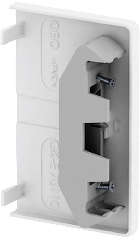 Koncový díl k parapetní liště OBO Bettermann, 6274370, 70 x 110 mm, bílá