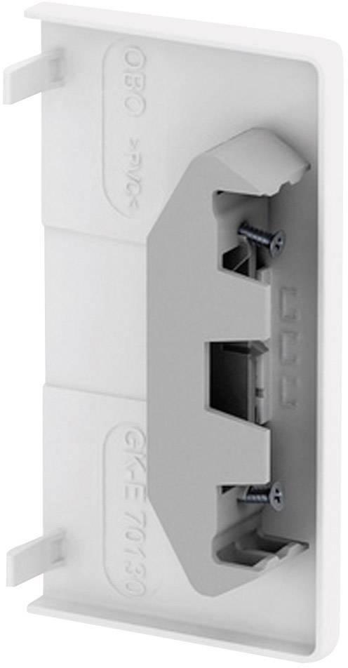 Koncový díl k parapetní liště OBO Bettermann, 6274570, 70 x 130 mm, bílá