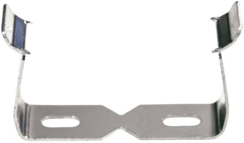 Držák pro zásuvkové lišty, 606551, stříbrná