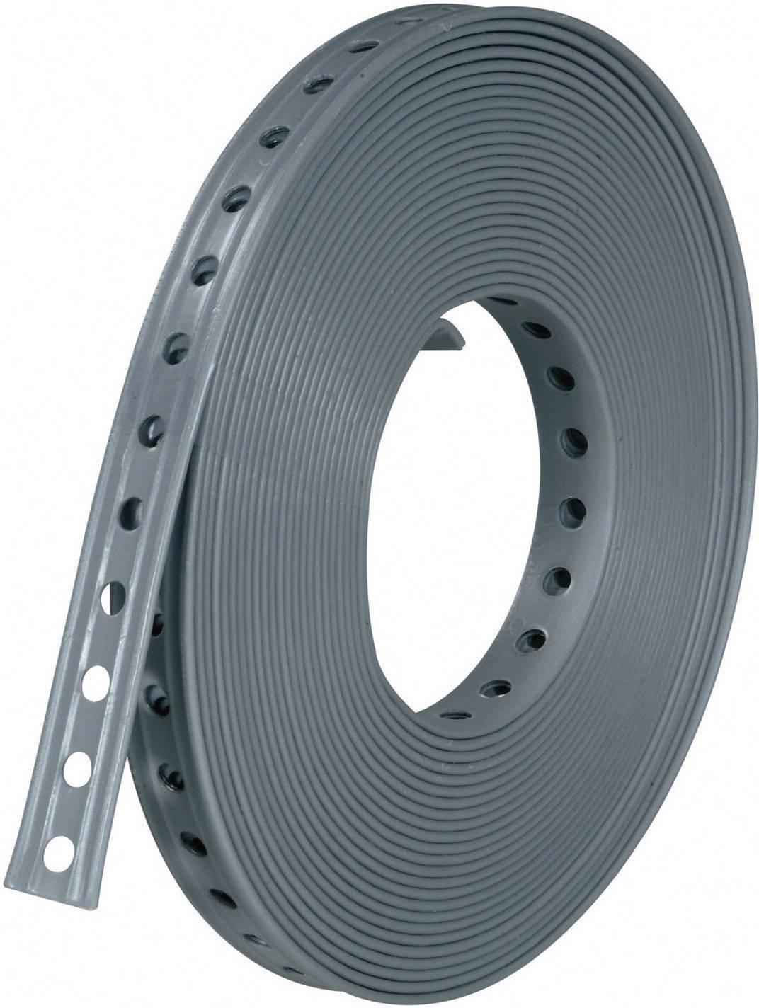Kovová montážní páska, 27x3 mm, 10 m