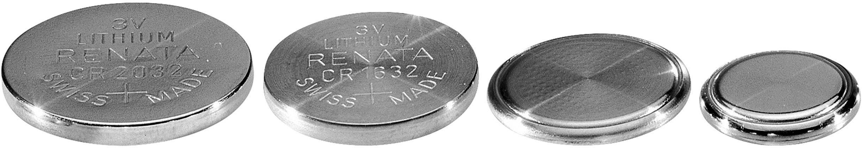 Gombíková batéria CR 1025 lítium Renata, 30 mAh, 3 V