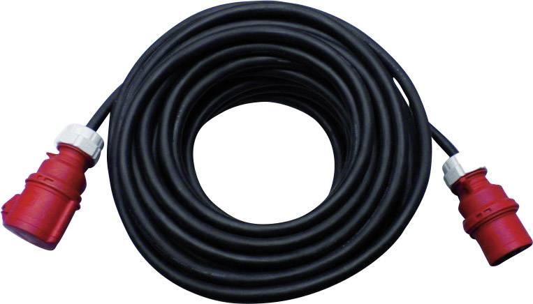Prodlužovací CEE kabel PCE, 10 m, 32 A, černá
