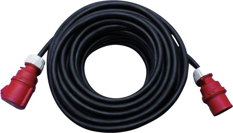 Prodlužovací CEE kabel PCE, 25 m, 32 A, černá
