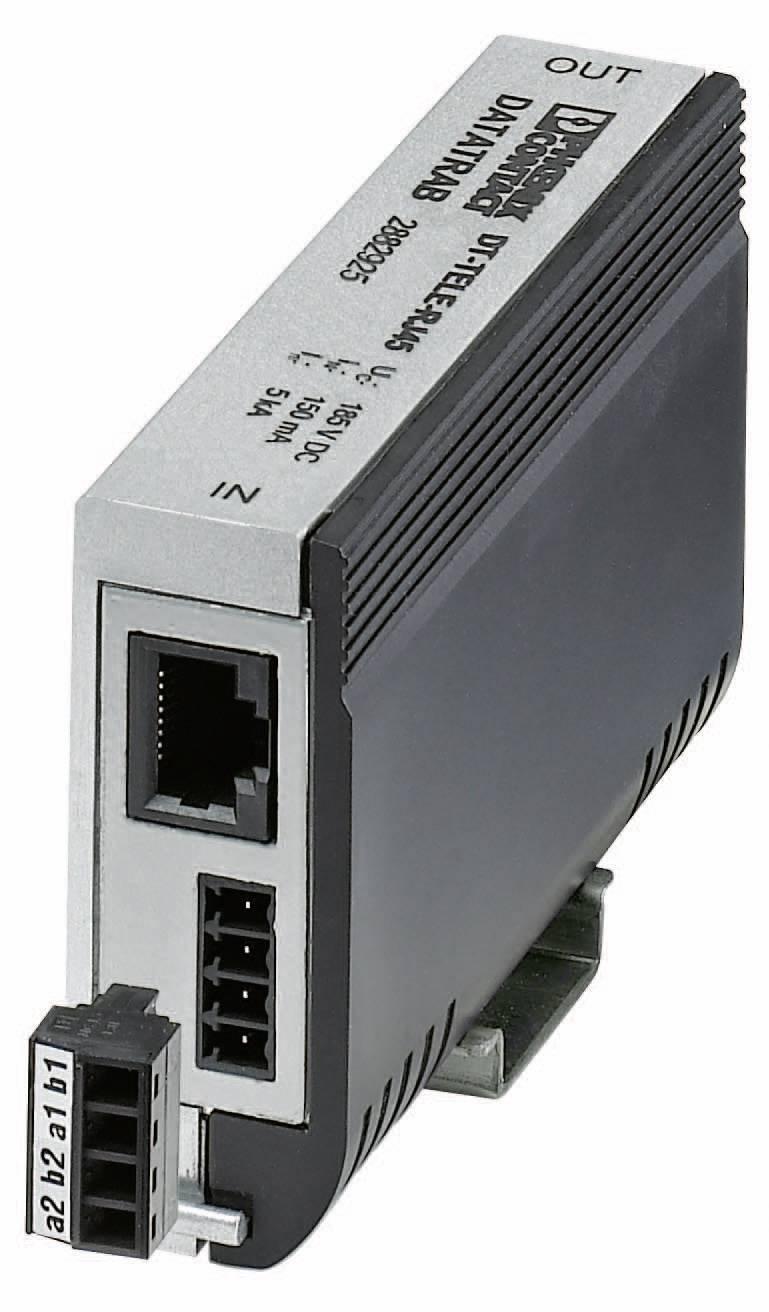 Přepěťová ochrana Phoenix Contact Tele DSL pro telekomunikační rozhraní, 2882925