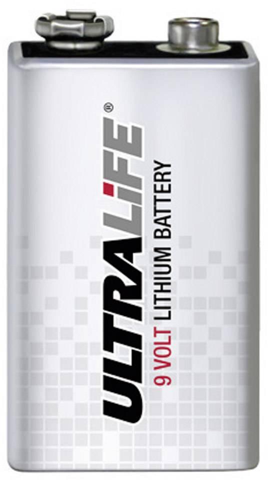 Lithiová baterie Ultralife High Energy 9V, 1200 mAh