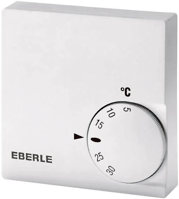 Izbový termostat Eberle RTR-E 6121, 5 až 30 °C, biely