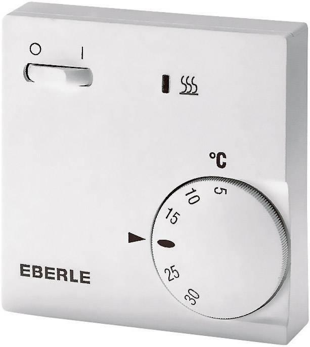 Izbový termostat Eberle RTR-E 6202, 5 až 30 °C, biely