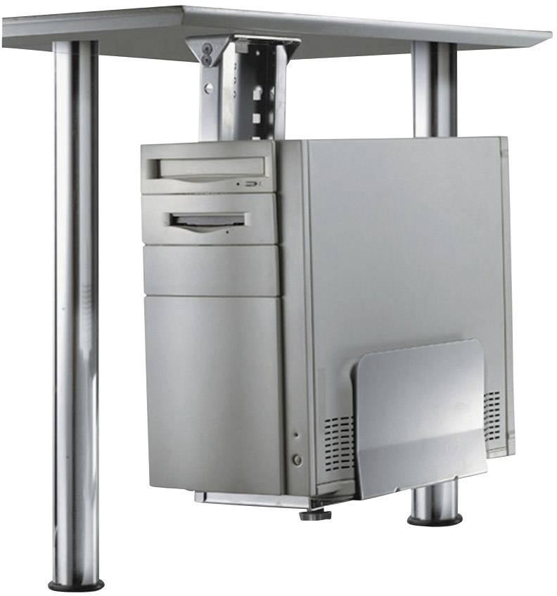 Držák na PC, CPU-D200BLACK, nosnost 30 kg, černý,NewStar