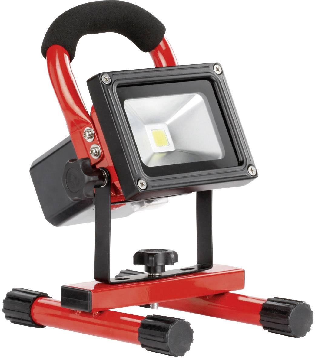 Akumulátorový stavební reflektor Ampercell 09000, 10 W, černá/oranžová