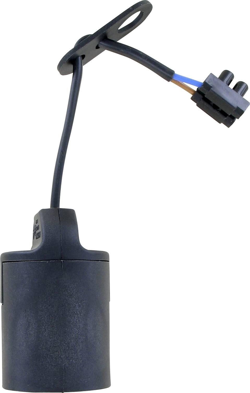 Objímka žiarovky E27 030C19B, 230 V, 100 W, čierna