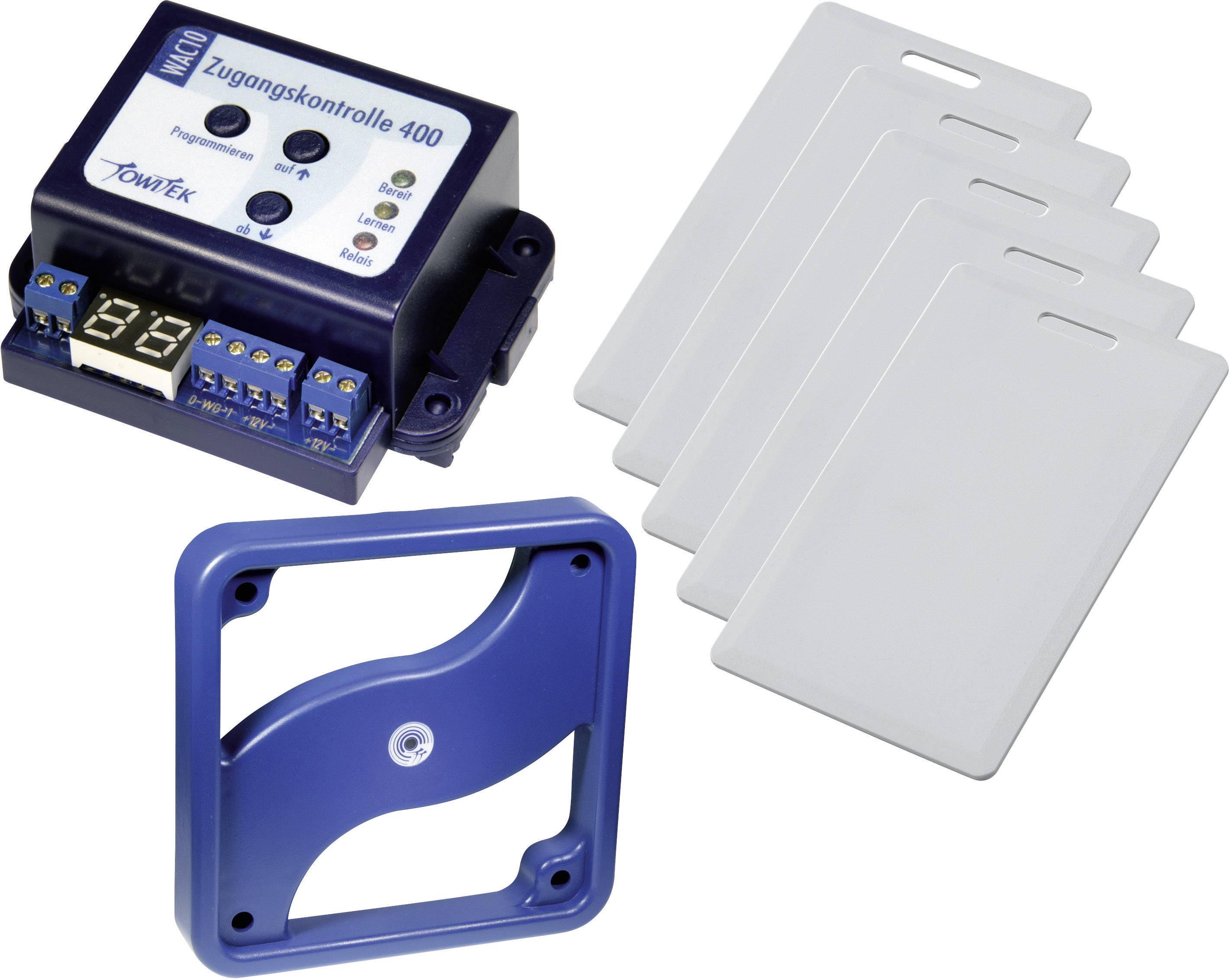 Sada pro přístupovou kontrolu TowiTek Počet transpondérů (max.): 400 12 V/DC