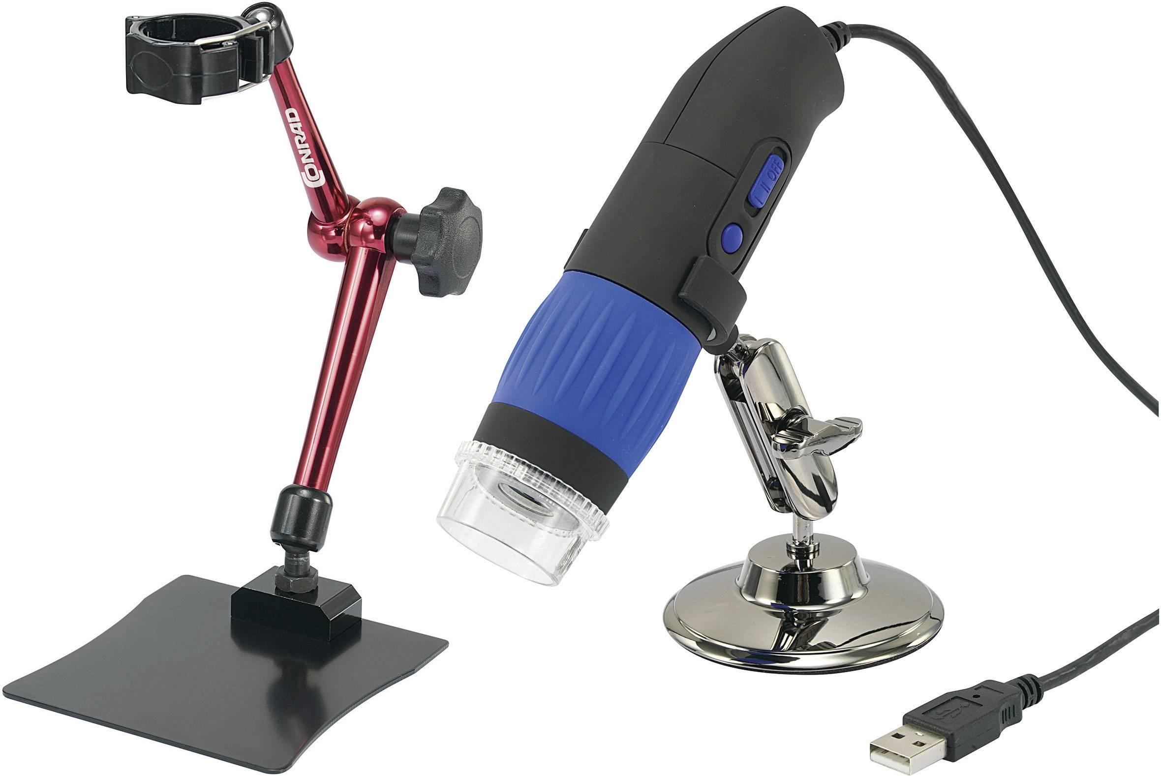 Sada mikroskopovej kamery USB 9 Mpx + 3D držiaku, DP-M14